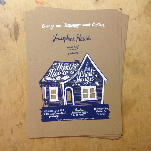 Josephine House, JosephineHouse, JOHO, Jeffrey's, jeffreys, jeffreysaustin, screen print, chad hague, hunter moore, abi daniel, abidaniel, hoarsefly, hoarseflyart